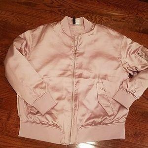 H&M SIZE 14 gorgeous pink bomber jacket